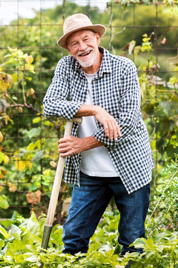 Nicolas, jardinier